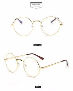 fddab4e221 7 Lentes Circulares, Gafas De Sol Claras, Gafas De Sol De Mujeres, Hombres