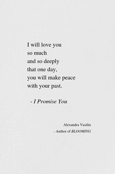 I Promise You - Love Poem by Alexandra Vasiliu | Alexandra Vasiliu