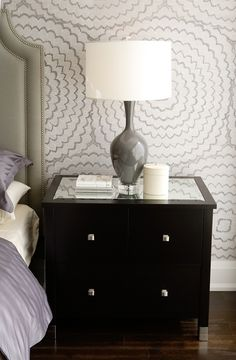 10 Spaces with Stylish Grasscloth Wall Coverings