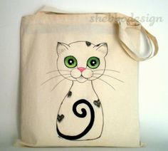 Hand Painted Totes from Shebbo Design