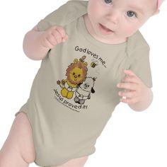 Lion and Lamb Babies Tees