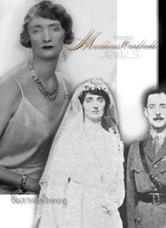 Lady Irene Denison   Marchioness of Carisbrooke  Royal Wedding Jewels The #royalmarriage of Alexander, Marquess Carisbrooke, previously known Prince Alexander Battenberg, son of Princess Beatrice, to Lady Irene Frances Denison, daughter of the Earl and Countess of Londesborough, which took place 1917  at the Chapel Royal, St. James  #rivierenecklace #royalmagazin_royaljewels #royalbride #history #tiaras #crowns  #princess #battenberg #historic #royalmagazin