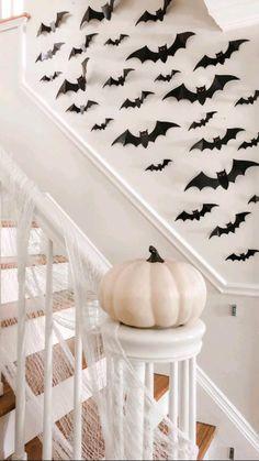 Halloween Room Decor, Casa Halloween, Easy Halloween Decorations, Holidays Halloween, Halloween Kids, Halloween Tattoo, Vintage Halloween, Halloween Crafts, Halloween Inspo