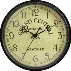 Geneva 9-Inch Plastic Wall Clock (Grand Central Station)