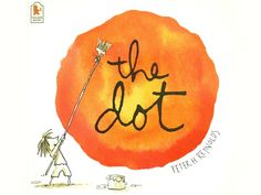 The Dot by Peter H. Reynolds - review and related crafts and activities from damsonlane.com