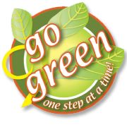 Go green, one step at a time!