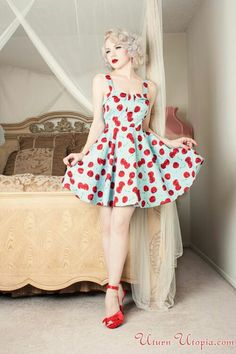 Miss Mosh, pinup Pin Up Outfits, Pin Up Dresses, Cute Outfits, Fashion Outfits, Retro Fashion, Vintage Fashion, Vintage Style, Retro Style, Style Fashion