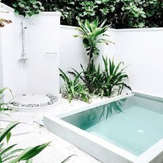 You don't have to have a big backyard to fit in a pool — and if you do have a big backyard, the pool doesn't have to take up the entire thing. We've got plenty of examples of less-than-enormous backyards where homeowners have squeezed in a pool — and lots of other things, too.