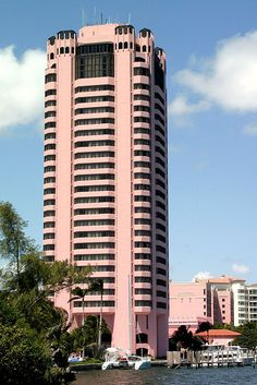 Boca Resort's Pink Tower