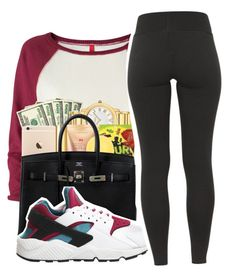 Untitled #228 by mindset-on-mindless on Polyvore featuring polyvore, beauty, H&M and NIKE
