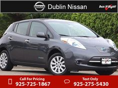 2013 Nissan Leaf S $10,500  miles 925-725-1867  #Nissan #Leaf #used #cars #DublinNissan #Dublin #CA #tapcars