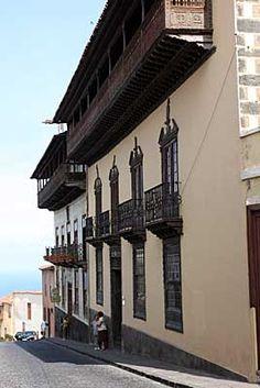 Casa de Los Balcones. La Orotava, Tenerife. Islas Canarias