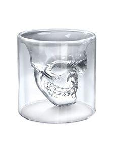 Uniqstore 6 Stk Doomed Skull Shot Glass Totenkopf Schnapsglas Schädel Wein Vodka Skull Head Klar Glas Tasse für Hause Bar Party: Amazon.de: Küche & Haushalt  #geschenk #present #gift #surprise #birthday #schaedel #totenkopf #skull #alkohol #spirit #liquer #halloween #fun #spass