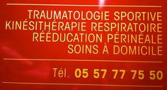 Un super centre de Kiné à Bordeaux centre, c'esttrès utile ce genre d'adresse pour de la kiné respi par exemple !
