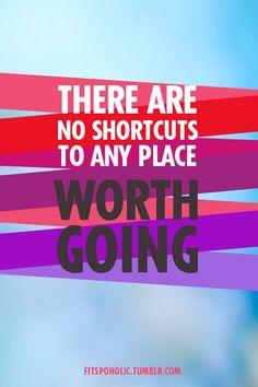 AMEN. no shortcuts. #fitfluential