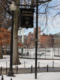 Boston Common!