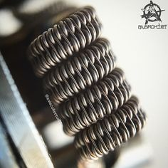 """Multi Gauge Staggered Clapton Specs: 2/24 #AN80 space clapton with 32g nich60…"