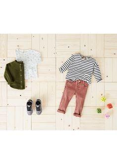 Bavlněné tričko s kapsou - Dívka | OUTLET Česká republika