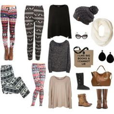 PRINTED LEGGINGS ARE MY FAAAAVE!!!  Check out this blog post to see cute and creative ways to match them!