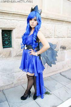 Princess Luna -Cosplay- by ChiipiChan.deviantart.com on @deviantART