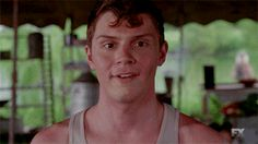 """and then I died ^_^ - Jimmy Darling in """"AHS Freak Show"""""""