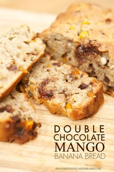 Double Chocolate Mango Banana Bread #QuakerRealMedleys #Ad
