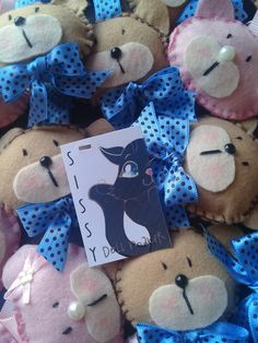 Chaveiro de ursinhas e Ursinhos