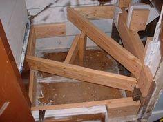 floor joist stair opening - Google Search