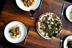 Tasty, fancy Italian spot. You probably need a reservation.