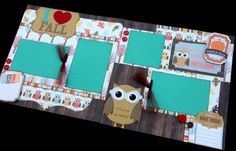 This layout kit features an adorable owl ready for some Fall weather. The theme…