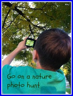 Go on a Nature Photo Hunt