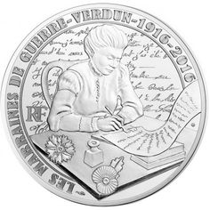 10 Euro Silber Verdun PP