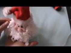 Papa Noel decorado en  Goma Eva