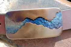 Hey, I found this really awesome Etsy listing at https://www.etsy.com/listing/257164614/blue-heat-river-walk-heavy-steel-belt