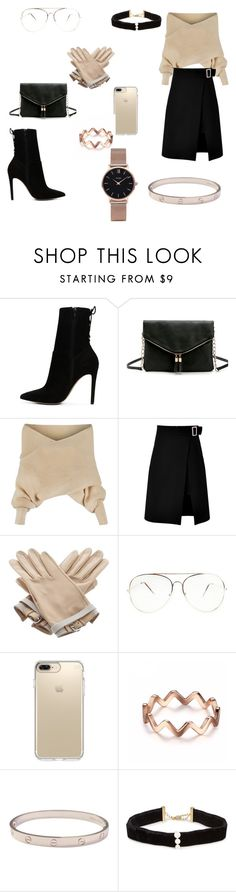 """""""Untitled #184"""" by xheniii ❤ liked on Polyvore featuring ALDO, WithChic, storets, Hermès, Speck, Cartier, Anissa Kermiche and CLUSE"""