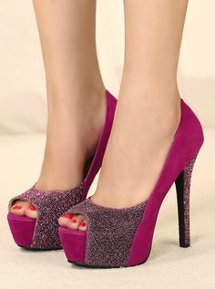 Peep Toe Platforms