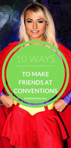 Here's 10 different ways to make new cosplay friends at Anime conventions