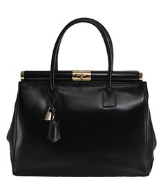 82a6c21741db Look what I found on Black Leather Crossbody Satchel. Ruth Johnson · Purses  and Bags