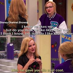 Liv and Maddie Cameron Boyce, Disney Memes, Disney Quotes, Old Disney Shows, Funny Memes, Hilarious, Funny Quotes, Jokes, Old Disney Channel
