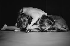 A boy and his dog. Love this. <3 Image by Sarah Vaughn