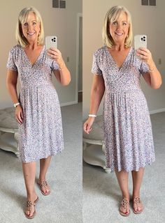 Dresses, Summer style, comfortable and versatile dresses, women's fashion, L.L. Bean 21st Dresses, Confident Woman, New Wardrobe, Colorful Fashion, Striped Tee, What I Wore, I Dress, Haircuts, Hairstyles