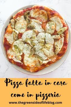 Pizza buona come in pizzeria, da provare! Vegetable Pizza, Quiche, Vegetables, Breakfast, Food, Morning Coffee, Essen, Quiches, Vegetable Recipes