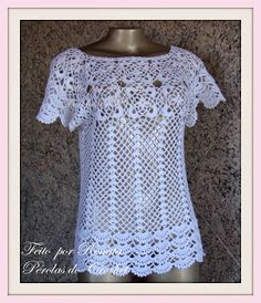 |How to crochet|: Crochet blouse| for free |crochet Patterns| 2030