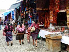 Local market in Guatamala