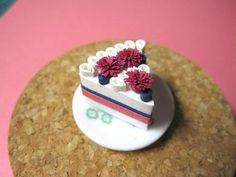 quilled cake - dolce frutti di bosco