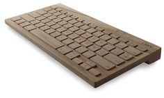 Orée Board Wooden Bluetooth Keyboard Looks Good, Naturally