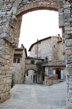 Vertine, chianti, great food, great wine- not as busy as other Tuscan villages