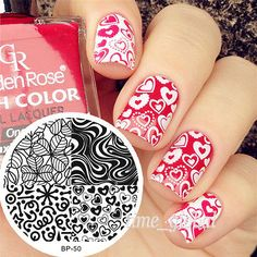 Born-Pretty-60Designs-Nail-Art-Stamping-Templates-Image-Stamp-Plates-Nail-Decor