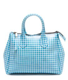 GUM: VICKY MIDI HAND BAG COLOR LIGHT BLUE | Playground Shop