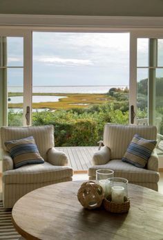 Seaside home on Martha's Vineyard inspired by nautical elements